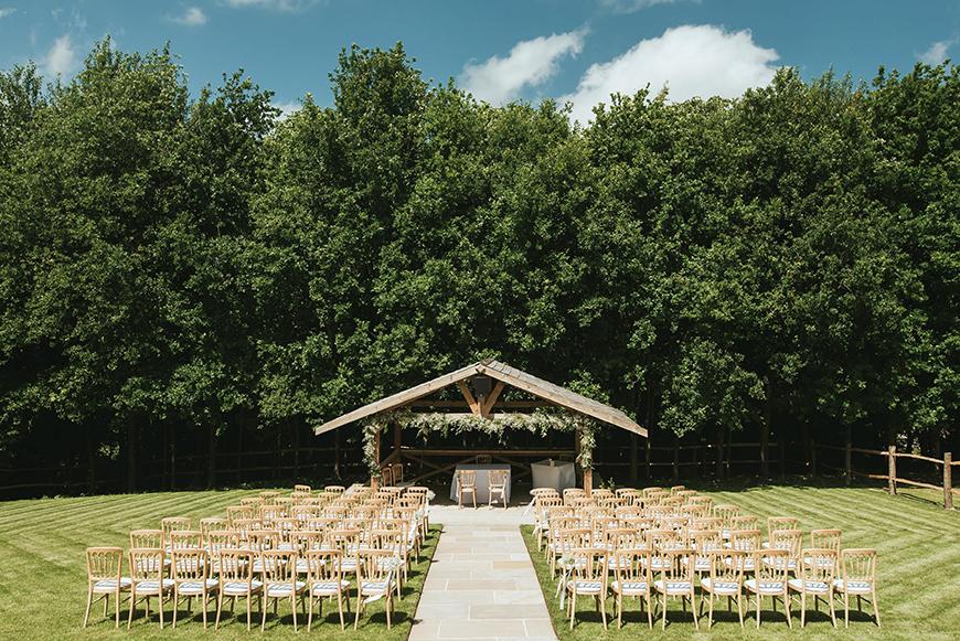 9 Amazing All-In-One Wedding Venues - Bury Court Barn | CHWV