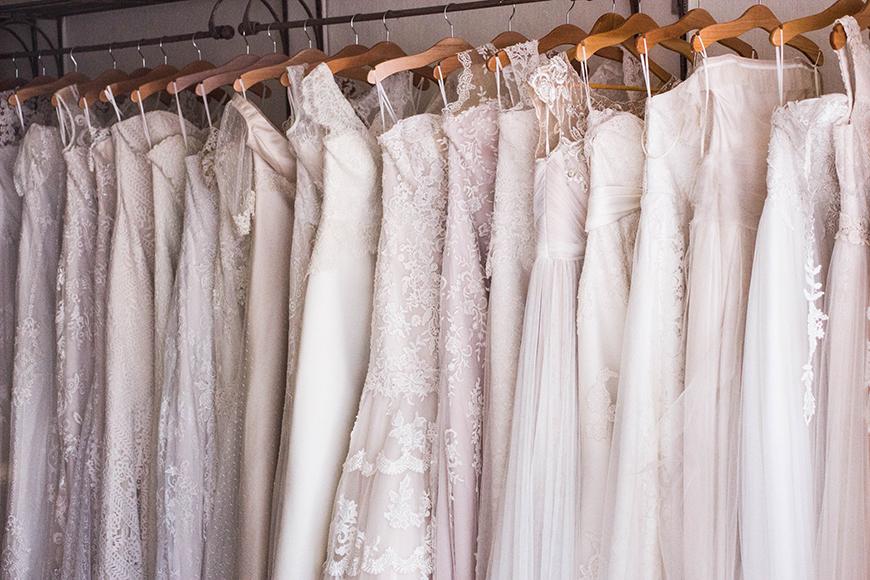 The Best Spring Wedding Ideas - Pastel wedding dresses | CHWV