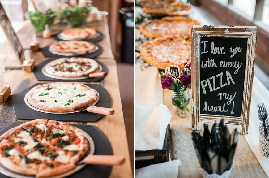 Exciting Evening Wedding Food Ideas Chwv