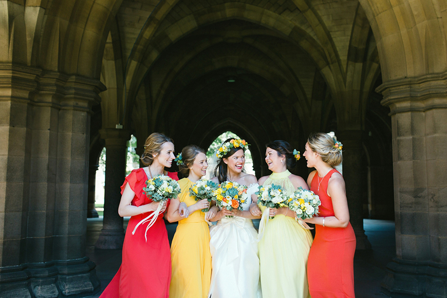 Autumn Colour Schemes: Orange - The dresses | CHWV