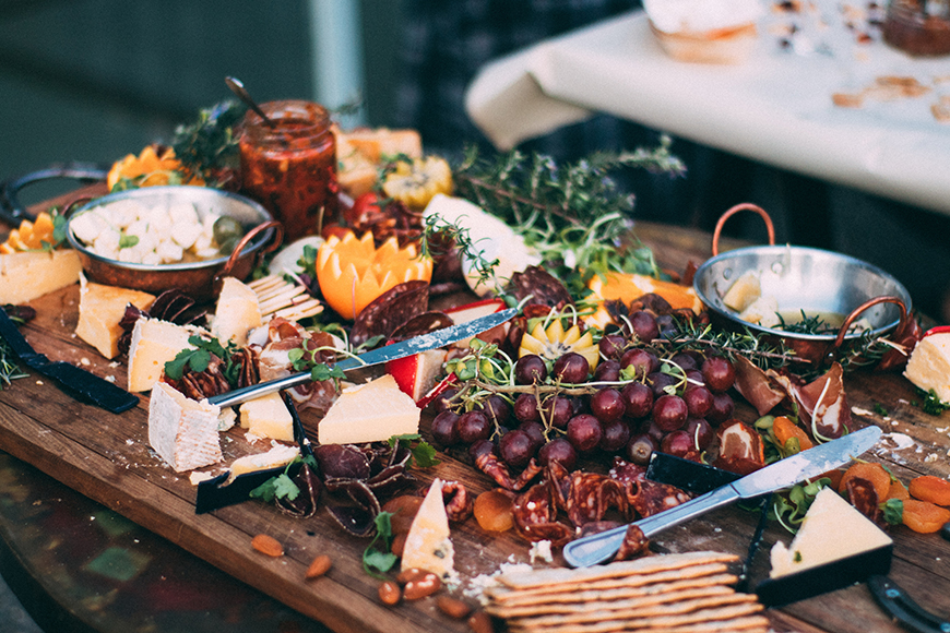 A Guide To Sustainable Weddings - Menu   CHWV