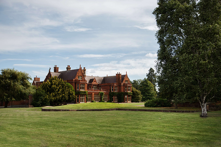 14 Unmissable Manor House Wedding Venues - Holmewood Hall | CHWV