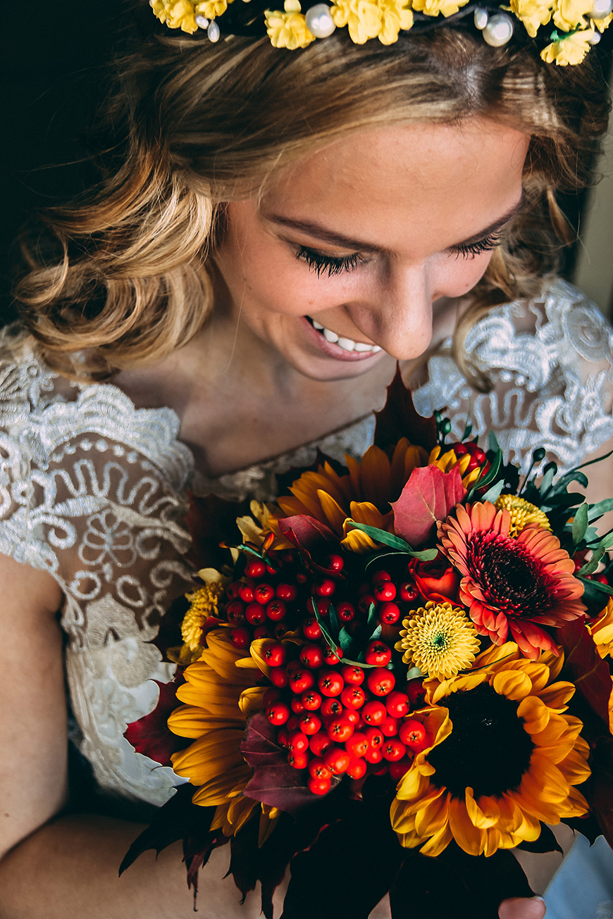 Colourful Wedding Ideas To Fall In Love With - Flowers | CHWV