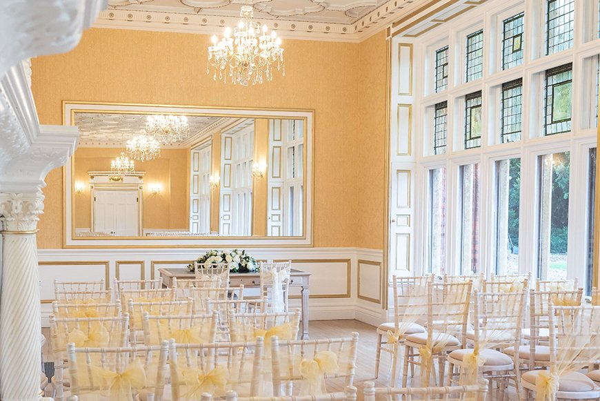 11 Autumn Wedding Venues To Fall In Love With - Holmewood Hall | CHWV