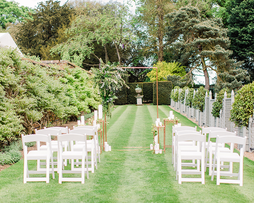 17 Ways To Have a Festival Wedding Theme - Outdoor vows | CHWV