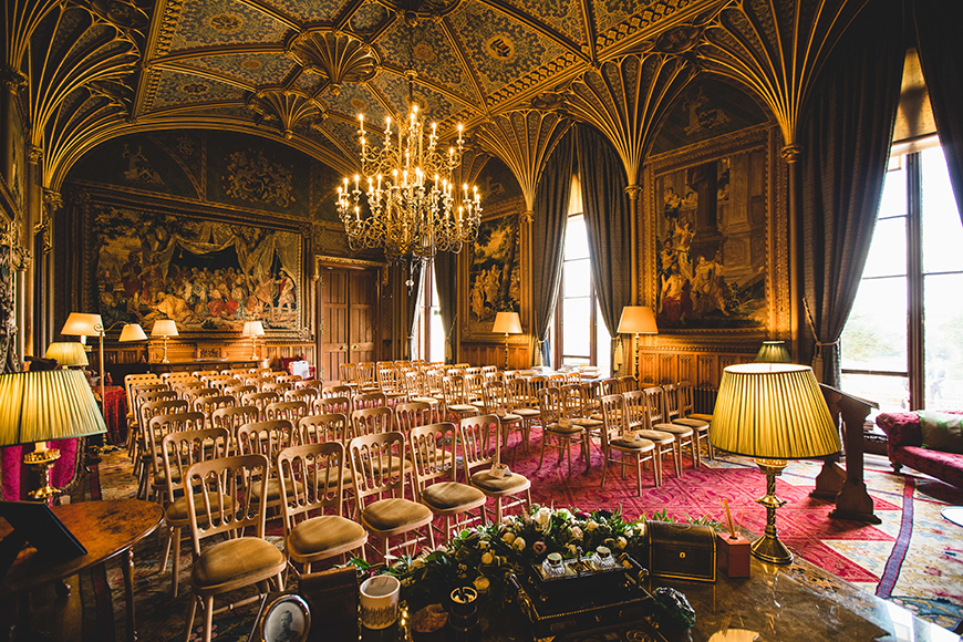 7 Castle Wedding Venues For A Fairy-Tale Wedding - Eastnor Castle | CHWV