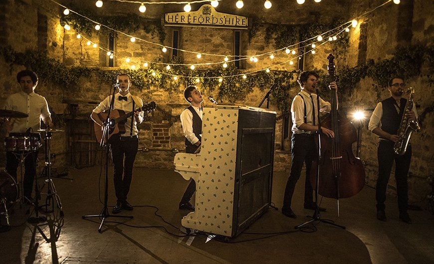 17 Ways To Have a Festival Wedding Theme - Book a band | CHWV