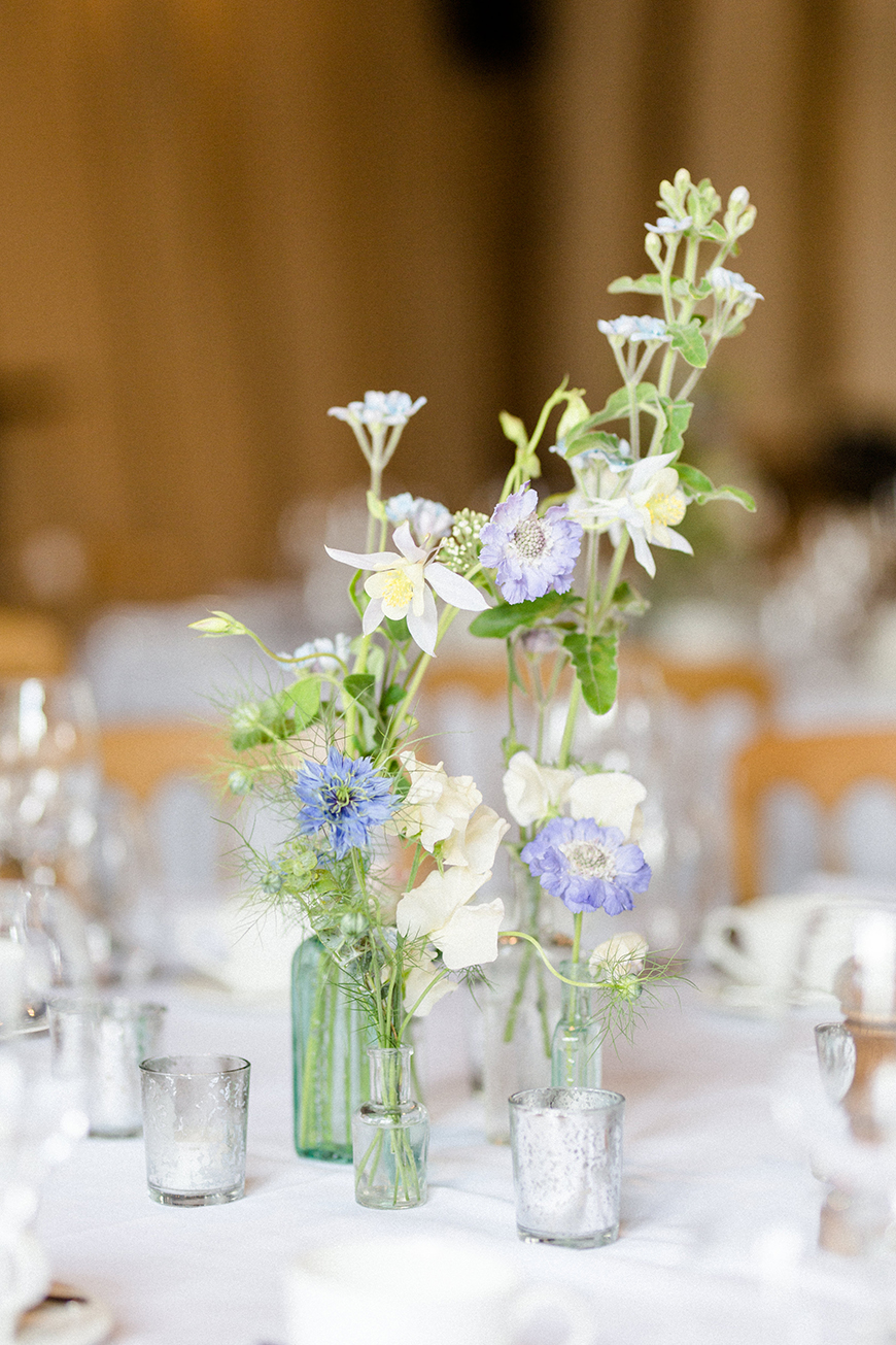 13 Ways To Have a Relaxed Wedding Day - Dial back the decor | CHWV