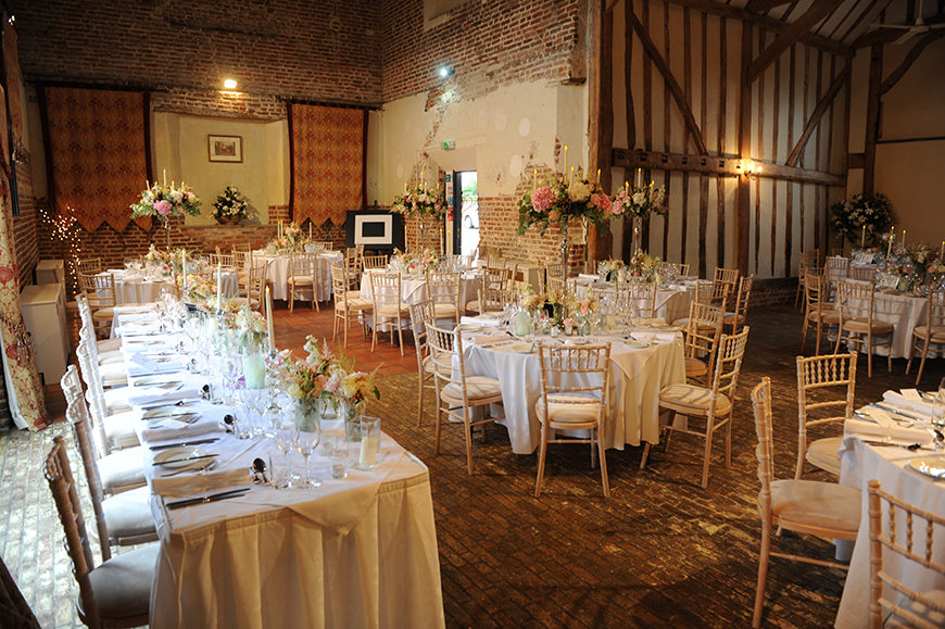 7 Venues For A Winter Wedding - Leez Priory | CHWV