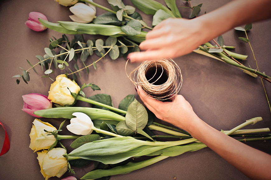 How to Make Your Wedding Flowers Eco-Friendly - Local florists | CHWV