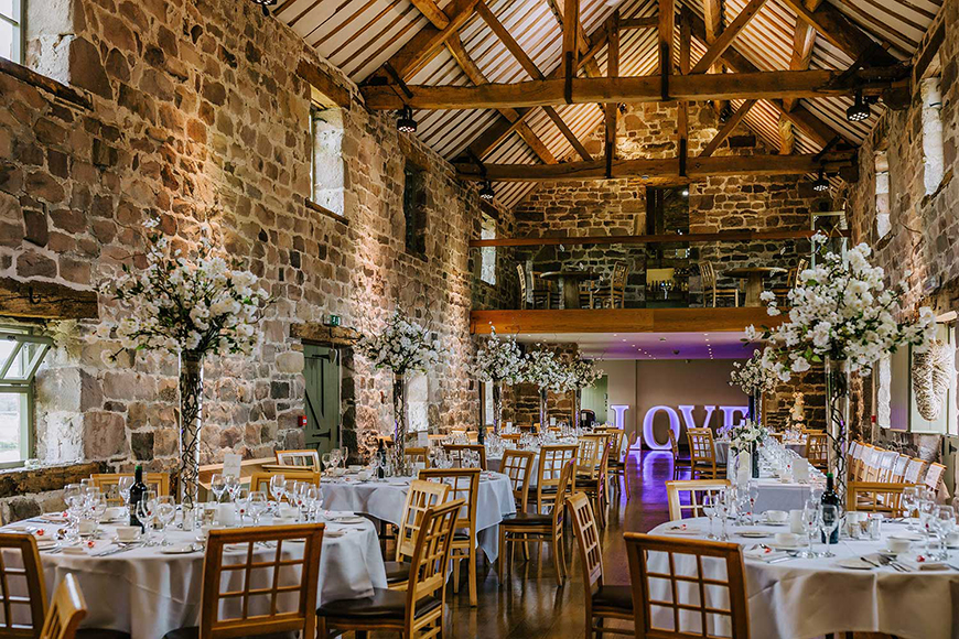 7 Wonderful Wedding Venues in the West Midlands - The Ashes Barns and Country House | CHWV