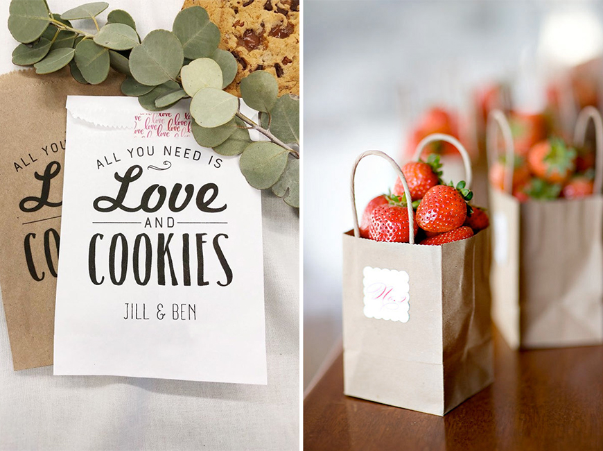 Eco-Friendly Wedding Favours - Fair-trade snacks | CHWV