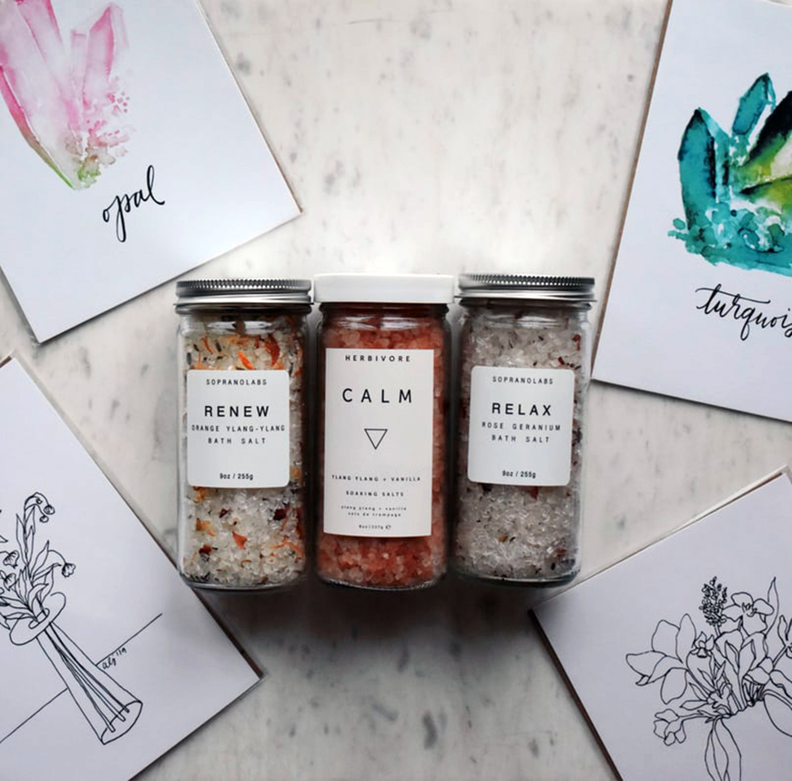 Eco-Friendly Wedding Favours - Organic bath salts | CHWV