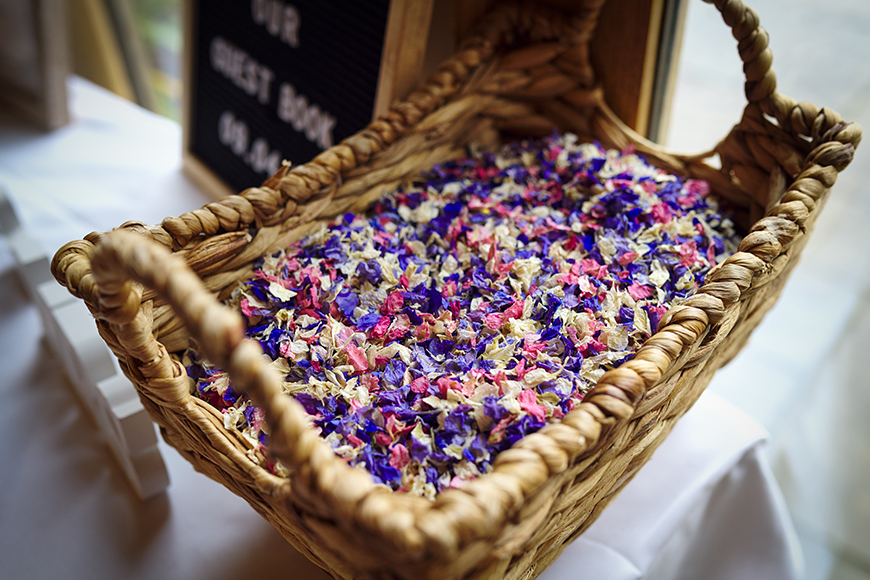 The Best Spring Wedding Ideas - Colour your confetti | CHWV