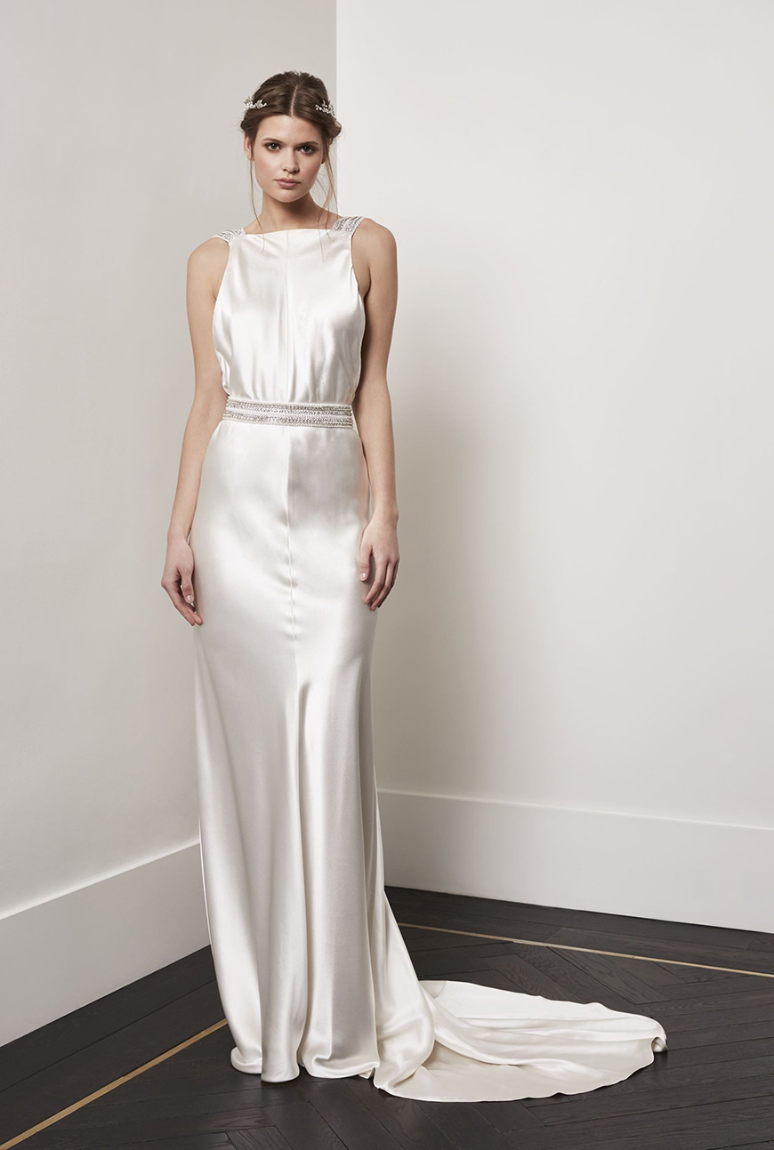 A Closer Look At Amanda Wakeley Wedding Dresses   Phoebe | CHWV
