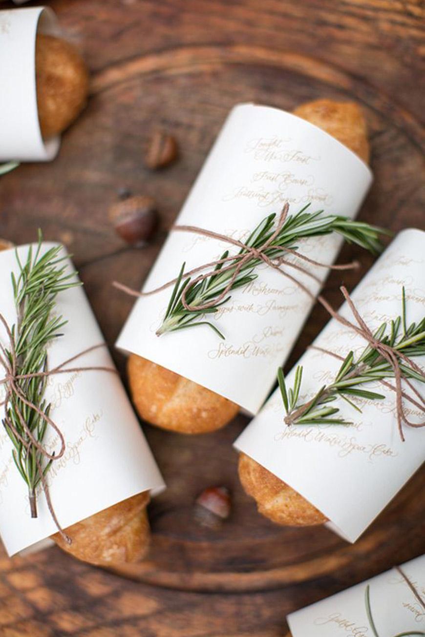 Amazing Autumn Wedding Food Ideas - Spectacular starters | CHWV