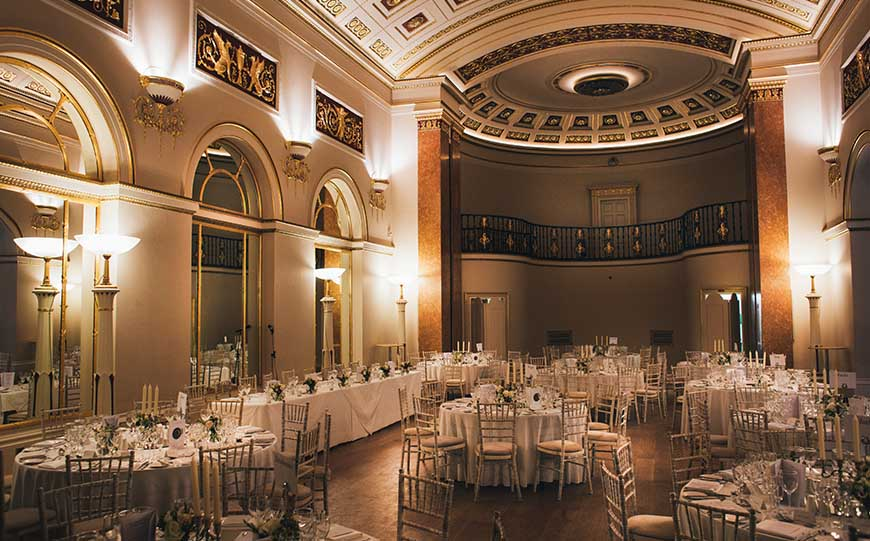 Marry In Style At The Lansdowne Club - The Ballroom | CHWV