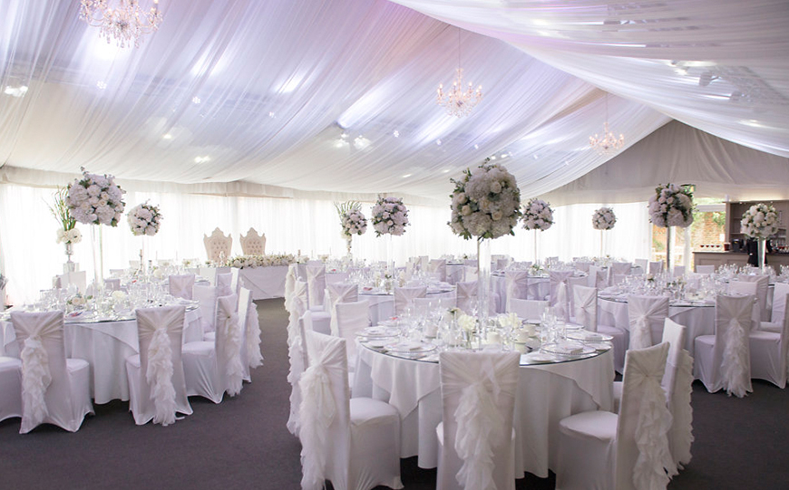 Wedding Venues What You Need For A Large Wedding: Everything You Need To Know About Marquee Wedding Venues