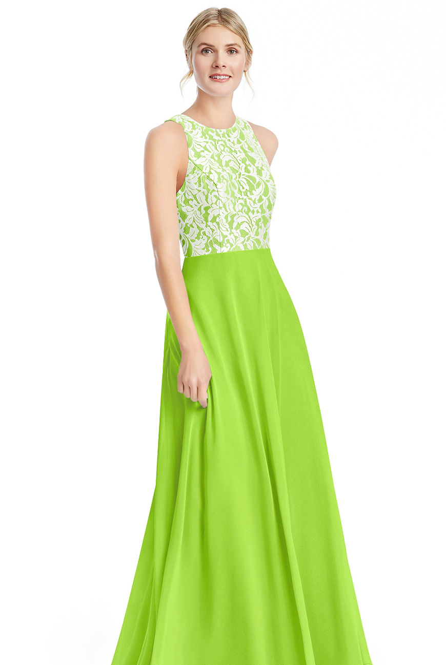 Wedding Ideas By Pantone Colour: Lime Punch - Bridesmaids dress | CHWV