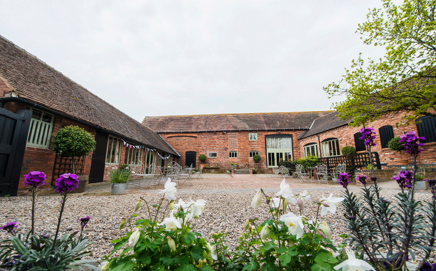 10 Stunning Spring Wedding Venues - Curradine Barns | CHWV