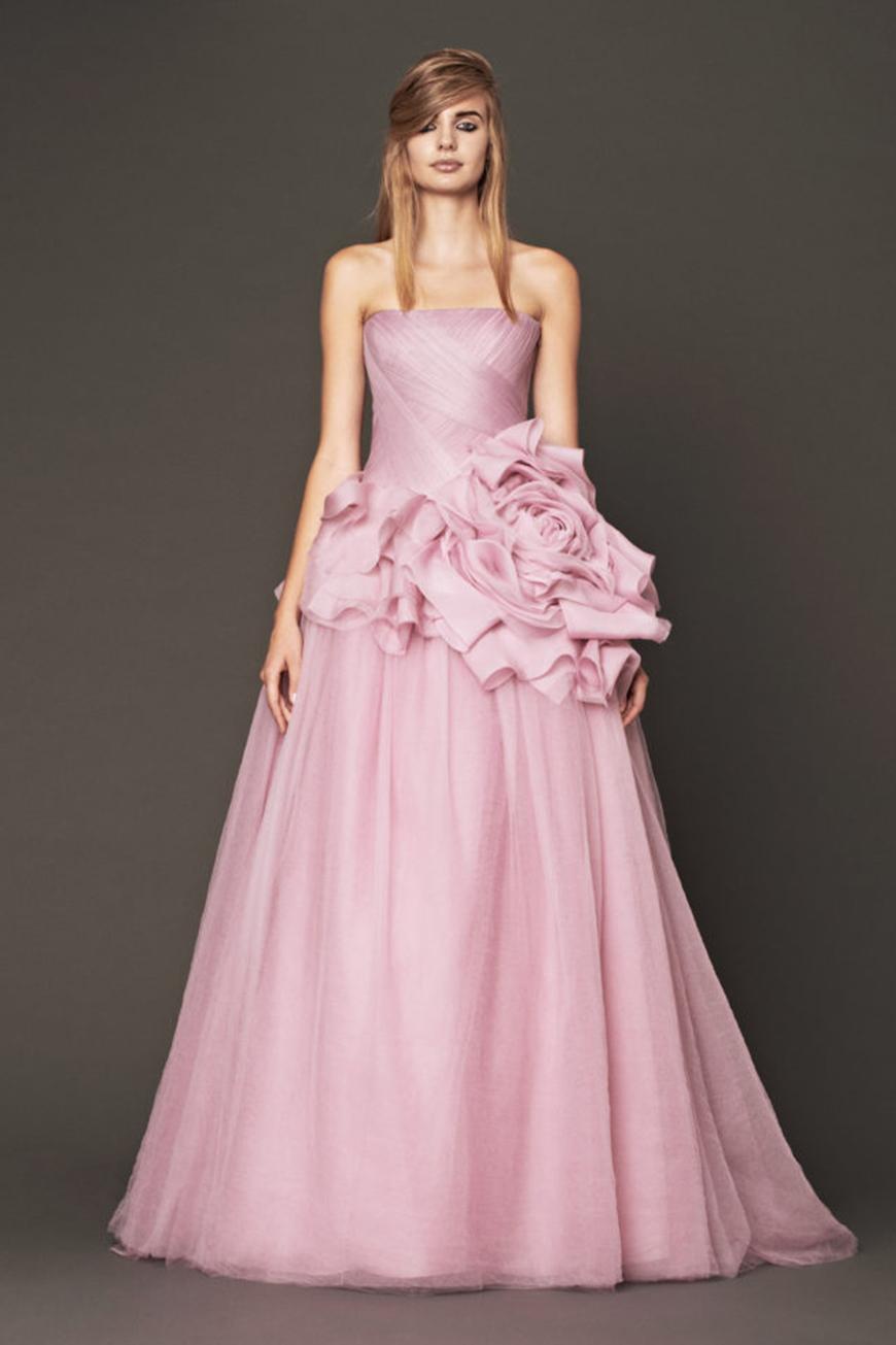 Wedding Ideas By Colour: Pink Wedding Theme - Dream dress | CHWV