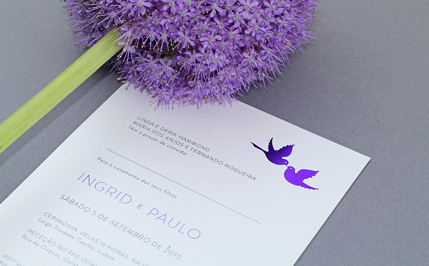 Award-Winning Wedding Stationery With The Foil Invite Company   CHWV