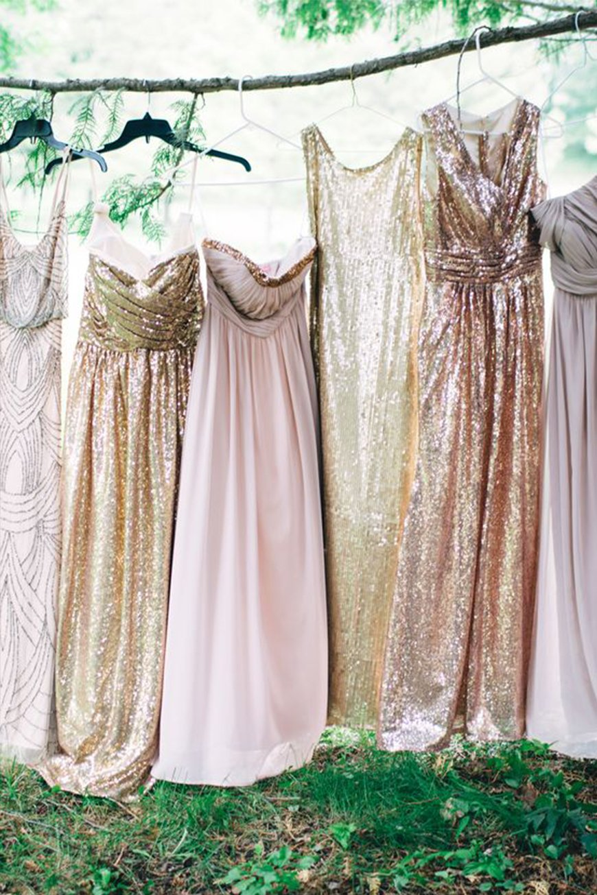 New Trends For Bridesmaid Fashion - Mismatched trend | CHWV