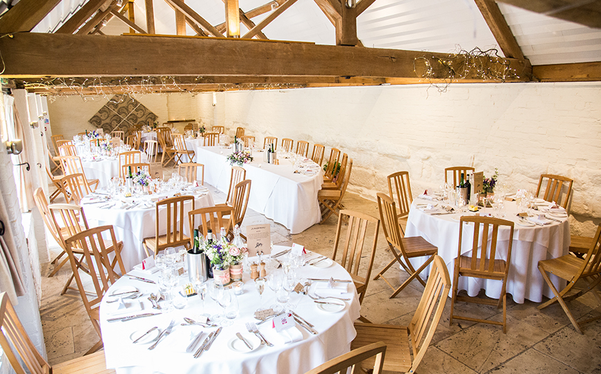 Exciting New Features At Curradine Barns - Wedding breakfast | CHWV