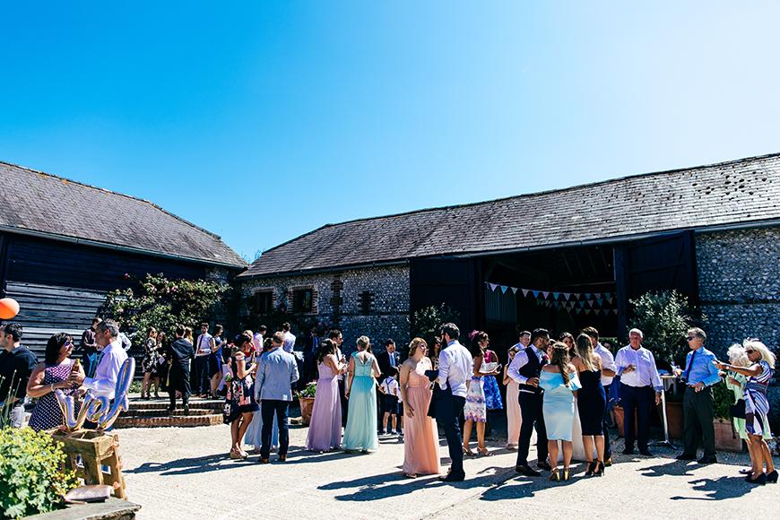 9 Amazing All-In-One Wedding Venues - Upwaltham Barns | CHWV