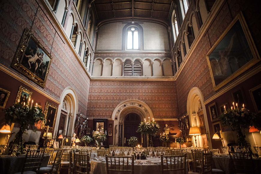 11 Autumn Wedding Venues To Fall In Love With - Eastnor Castle | CHWV