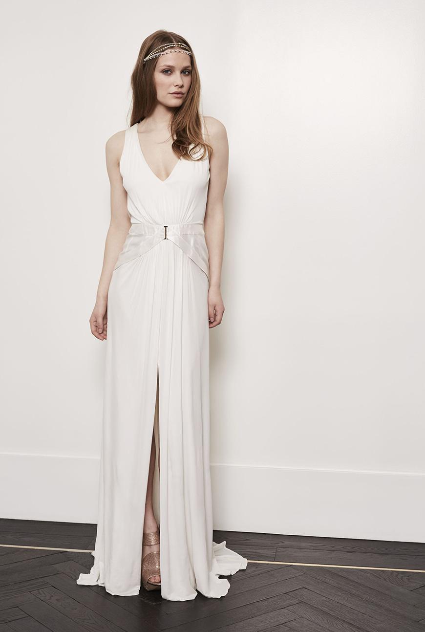 A Closer Look At Amanda Wakeley Wedding Dresses - Alexis | CHWV