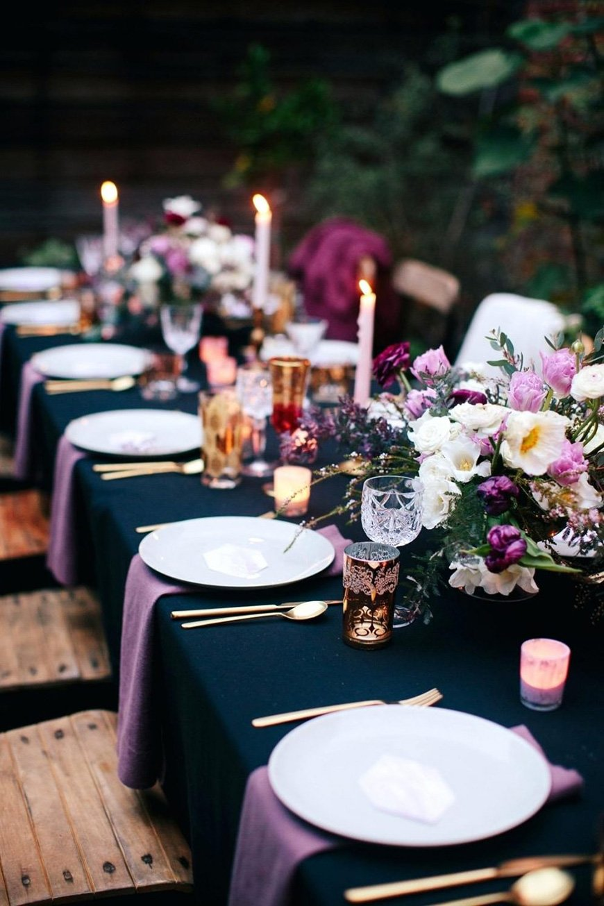 Purple Wedding Decorations | Wedding Ideas By Colour | CHWV