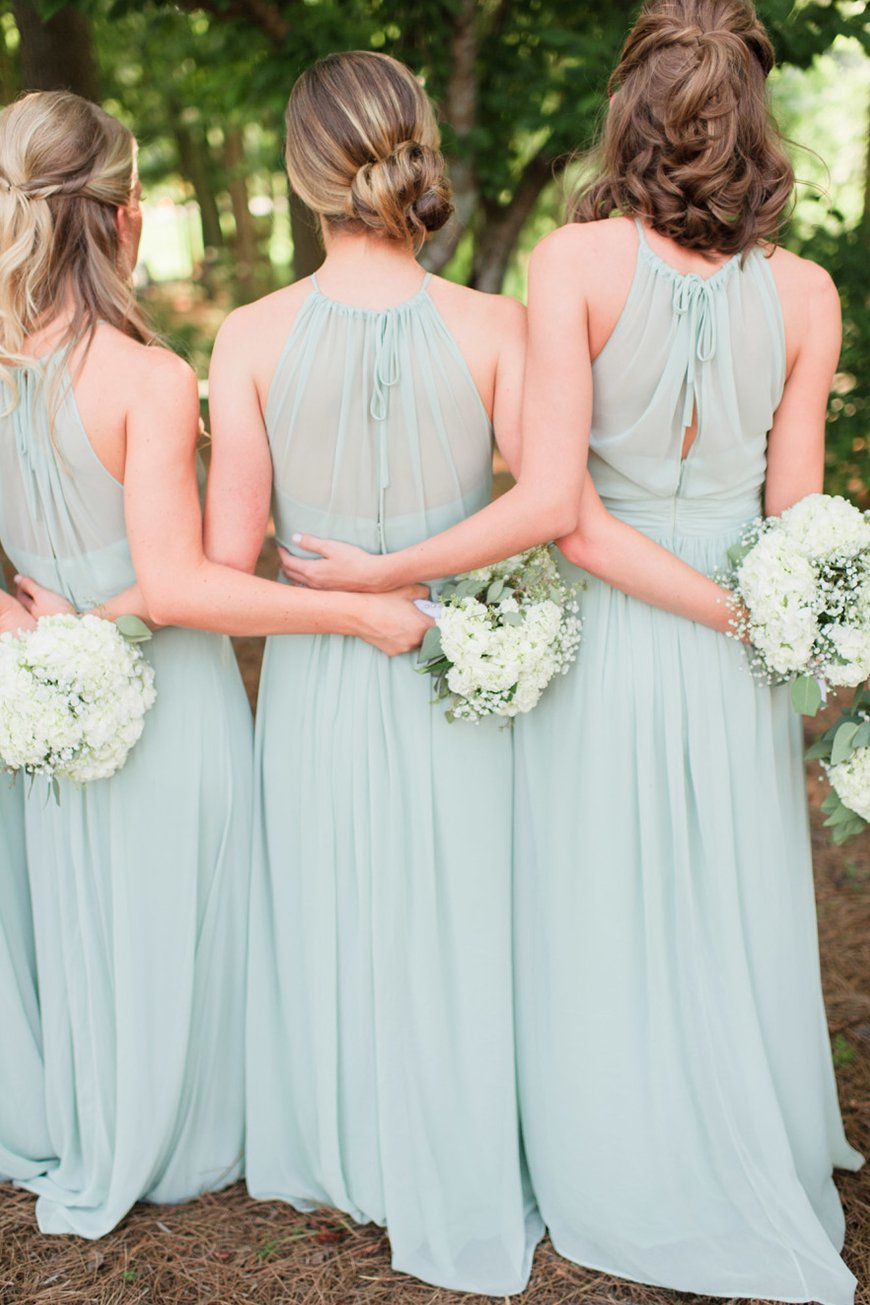 Pastel Bridesmaid Dresses | Wedding Ideas By Colour | CHWV