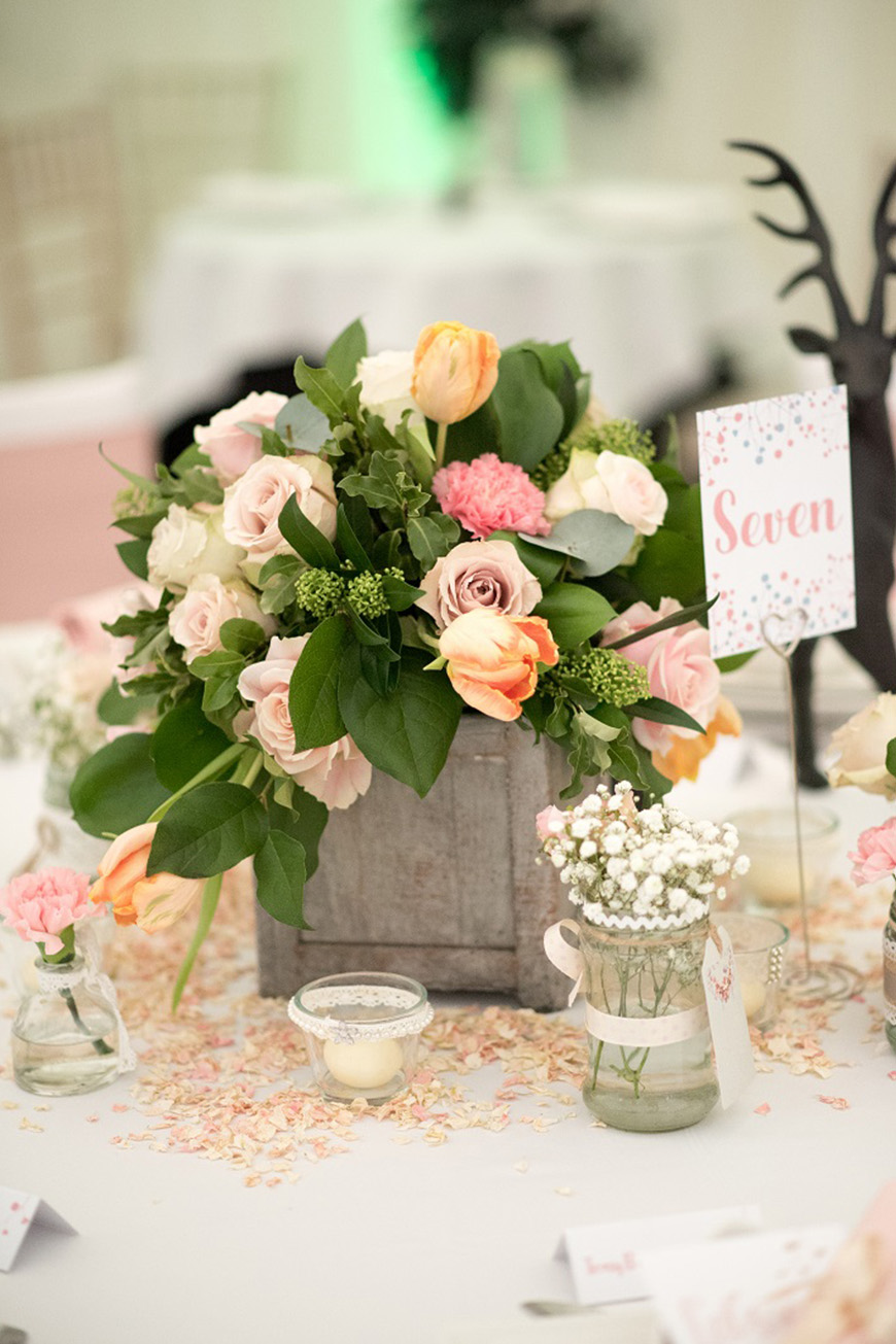 Wedding Ideas By Colour: Millennial Pink Wedding Theme - Fabulous flowers | CHWV