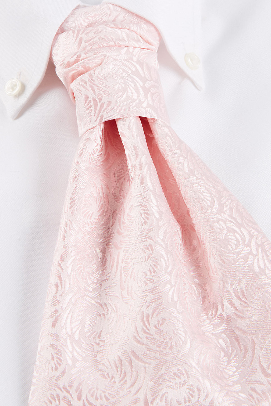 Wedding Ideas By Colour: Pink Groom's Accessories - Ties | CHWV