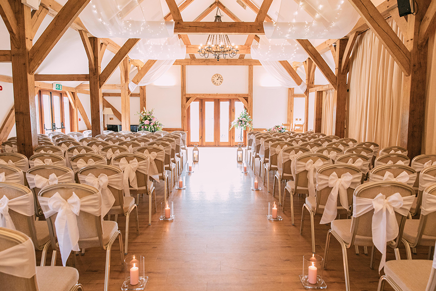 The Best Of British Wedding Venues - Sandhole Oak Barn | CHWV