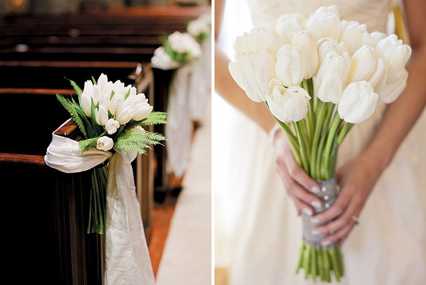 White Tulip Wedding Flowers for your Wedding Day