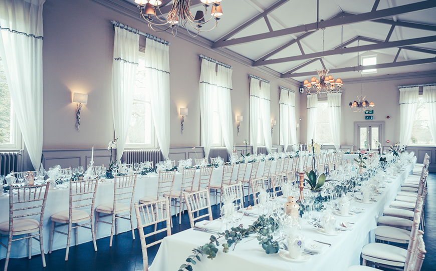 Our Venue Specialist's Perfect Wedding At Morden Hall - Food and drink | CHWV