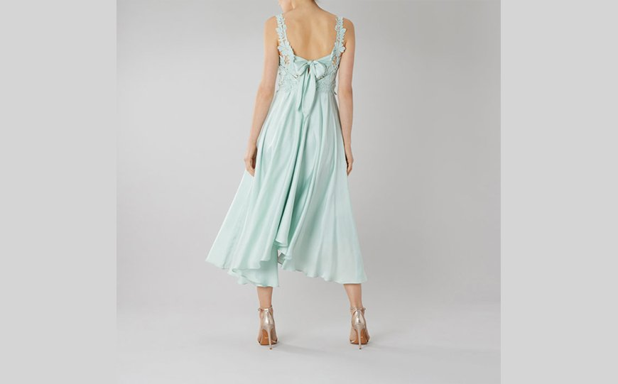 Wedding Ideas By Colour: Pastel Bridesmaid Dresses - Blues and Greens | CHWV