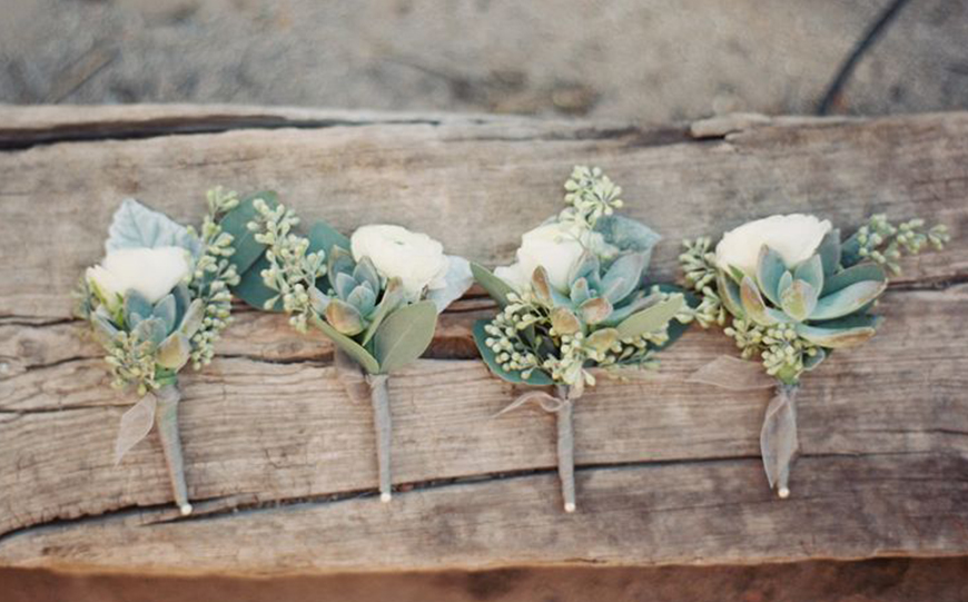 Our Venue Specialist's Perfect Wedding At Blackwell Grange - Buttonholes | CHWV