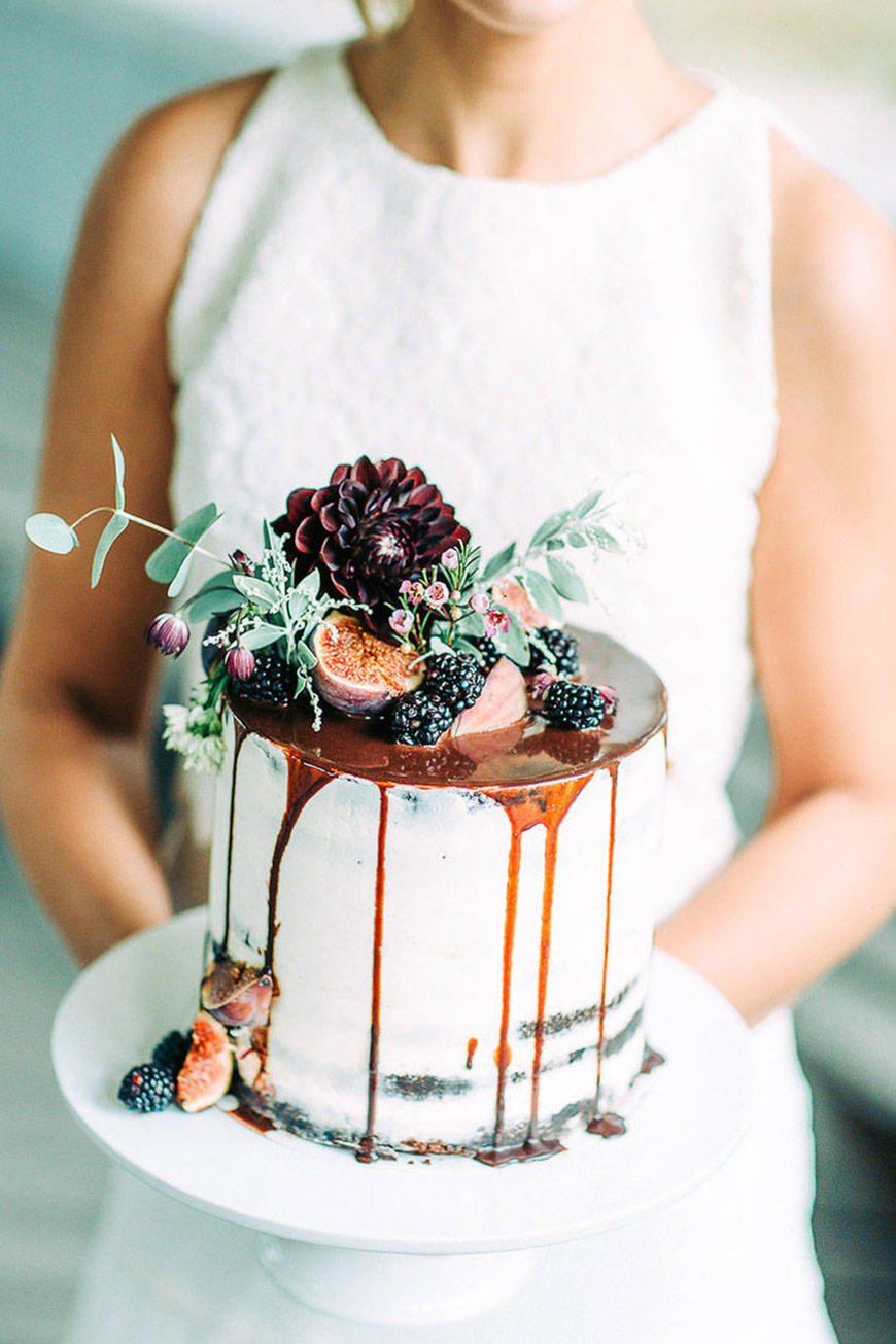 Wedding Ideas By Colour: Orange Wedding Decorations - Caramel Cake | CHWV