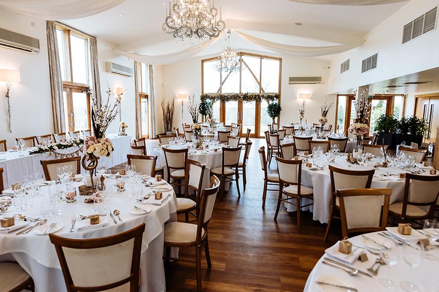 9 Incredible Wedding Venues With Accommodation - Mythe Barn   CHWV