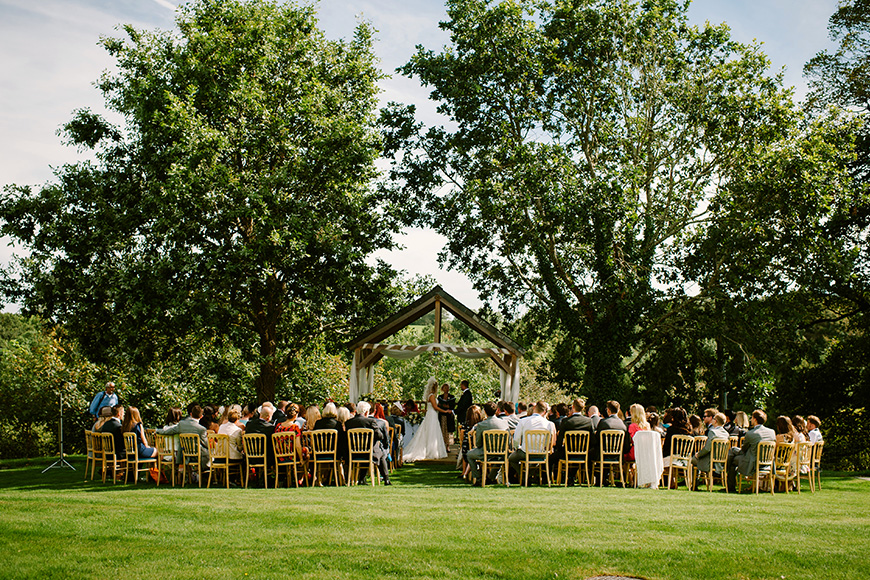 12 Outside Wedding Venues To Fall In Love With - The Green | CHWV