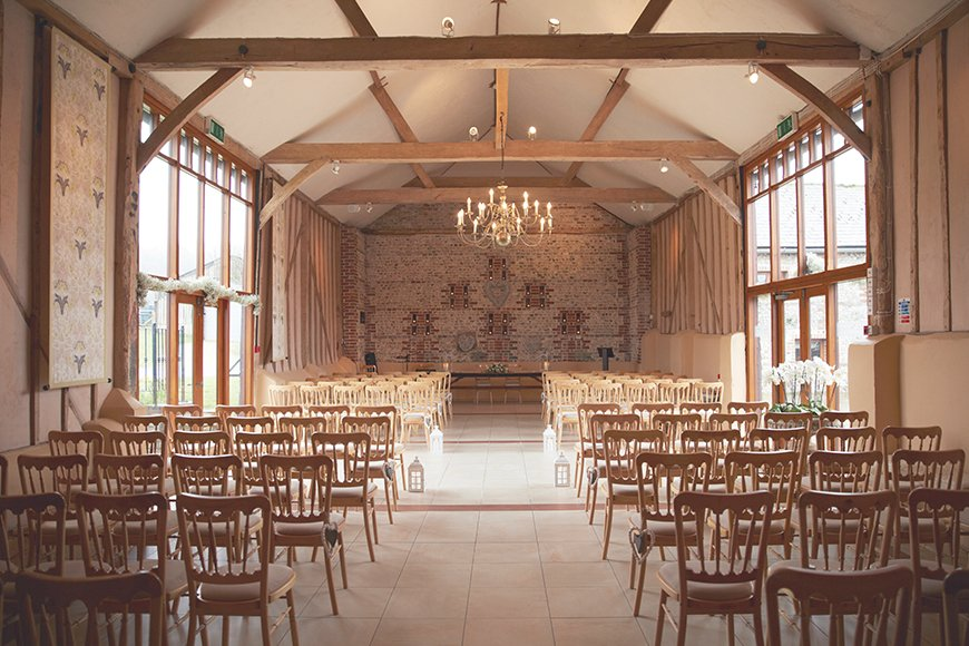 How To Match Your Look To Your Wedding Venue - Upwaltham Barns | CHWV