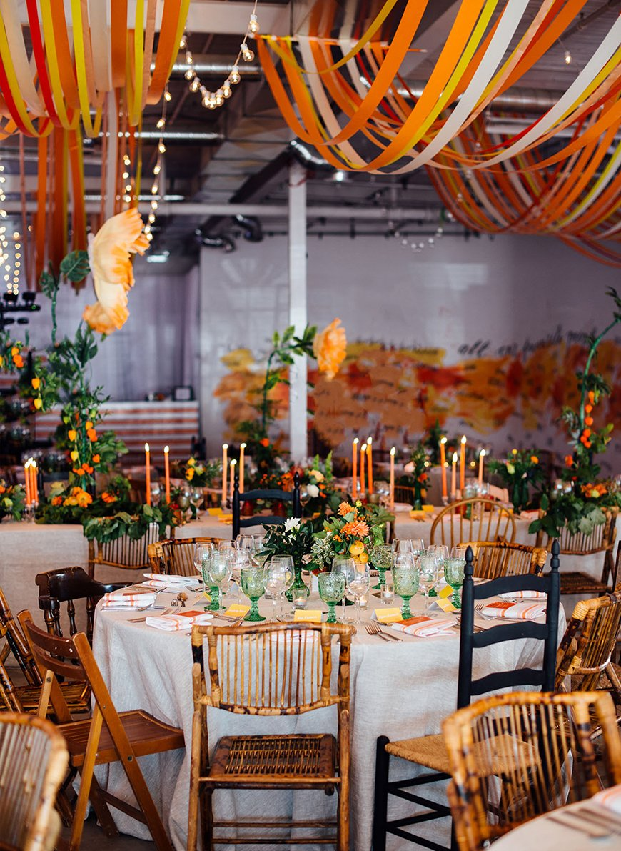 Autumn Colour Schemes: Orange - The decor | CHWV