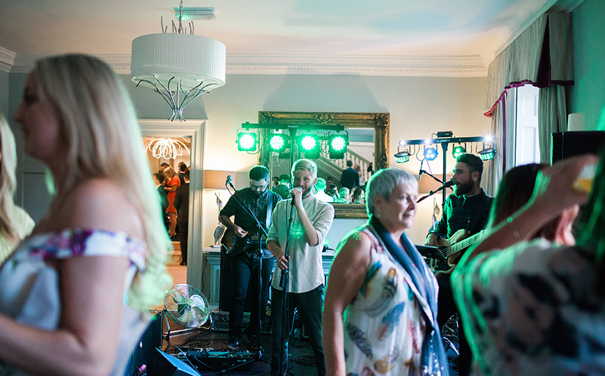 Our Venue Specialist's Perfect Wedding At Morden Hall - The entertainment | CHWV