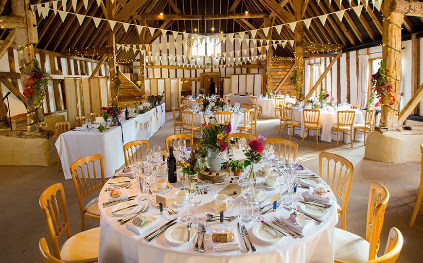 What To Look For In An Autumn Wedding Venue - Clock Barn | CHWV