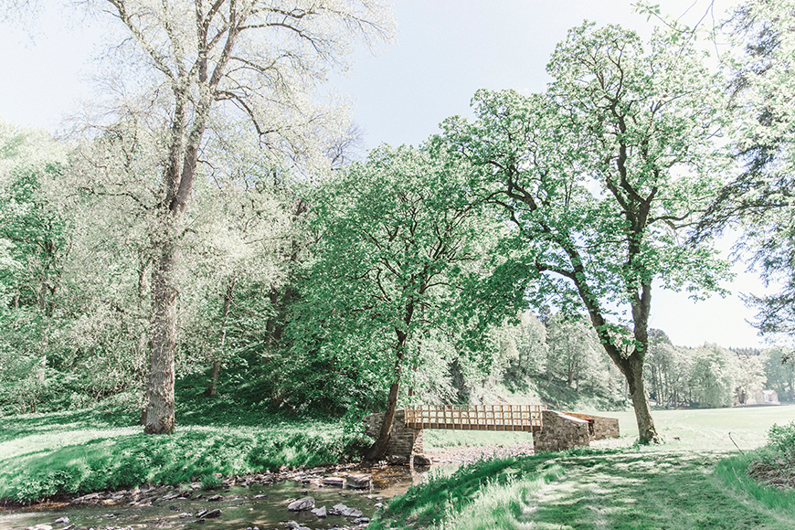 7 Enchanting Woodland Wedding Venues - Gisburne Park Estate | CHWV