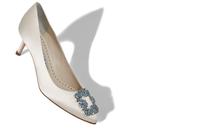Wedding Ideas By Colour: Pastel Wedding Shoes - Shades of blue | CHWV