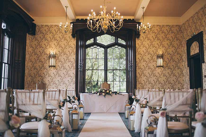 7 Stunning Wedding Venues In Shropshire - Rowton Castle | CHWV